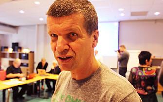 Gunnar Kagge, leder av redaksjonsklubben i Aftenposten.