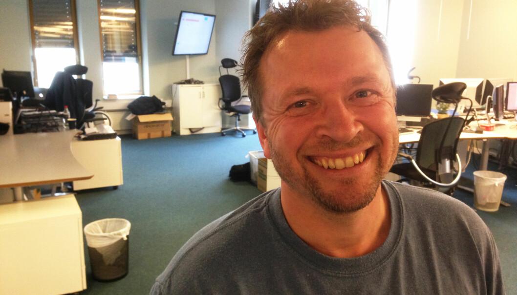 Klubbleder Kjetil Mæland i Nettavisen sier han er mellomfornøyd med årets oppgjør. Foto: Tommy Brakstad/Nettavisen