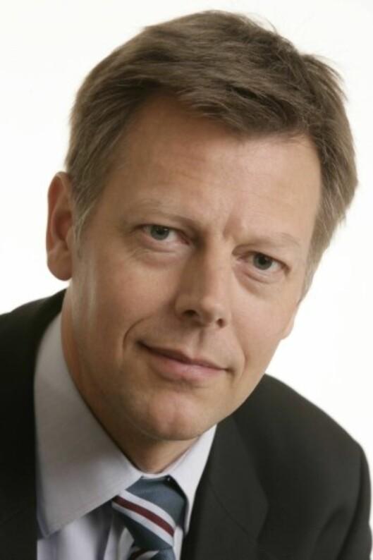 Olav Nyhus, juridisk direktør i NRK. Foto: NRK