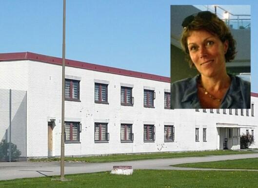 Åse Maria Sommerset Haugen utdanner seg til fengselsbetjent og har hatt et praksisårved<br>Ullersmofengsel (bildet). Foto: Privat/Kriminalomsorgen