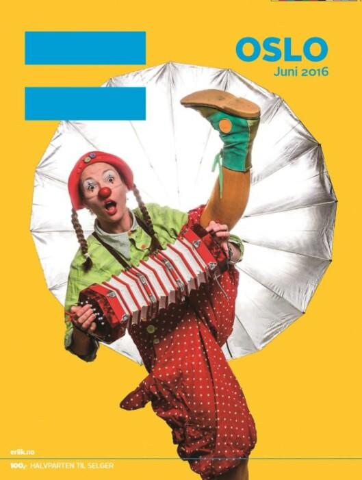 Juniutgaven av gatemagasinet =Oslo.<br>Bladet utkommer hver måned, og er<br>et talerør for gatas folk.