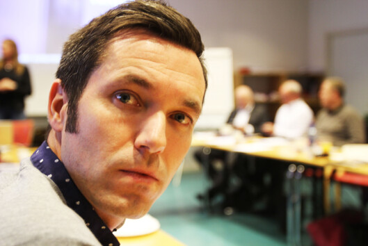Marius Tetlie var tidligere medlem av NJs landstyre.<br>Foto: Martin Huseby Jensen