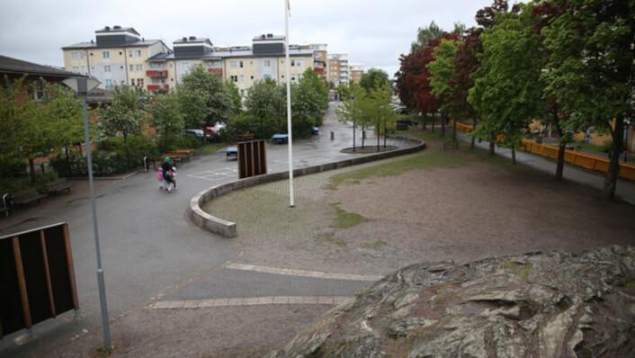 I Rinkeby, kanskje den mest beryktede bydelen av alle i Stockholm, mener beboere at svartmaling av situasjonen gjør den verre.<br>Foto: Pål Nordseth, Filter