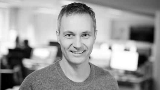 Svein-Erik Hole, redaktør i TU.no. Foto: Eirik Helland