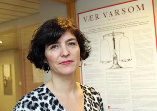 Generalsekretær Kjersti Løken Stavrum i Norsk<br>Presseforbund. Foto: Birgit Dannenberg