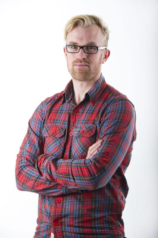 Erlend Skarsaune, leder av redaksjonsklubben i<br>Stavanger Aftenblad. Foto: Fredrik Refvem