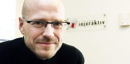 Innovasjonsdirektør i Amedia,<br>Pål Nedregotten.