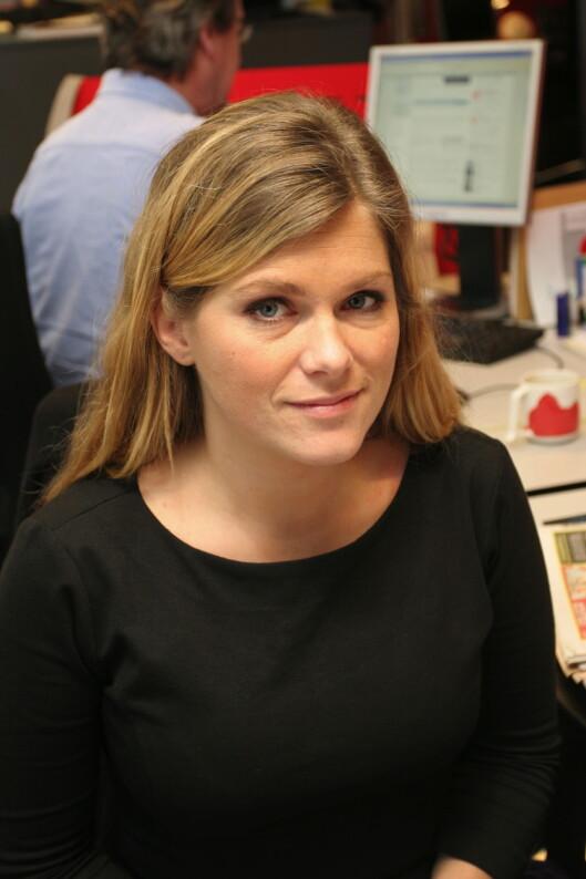 Martine Aurdal, debattansvarlig i Dagbladet.<br>Foto: Birgit Dannenberg