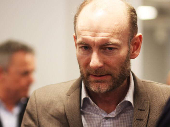 Juryleder og tidligere prisvinner Knut Olav Åmås. Foto: Martin Huseby Jensen