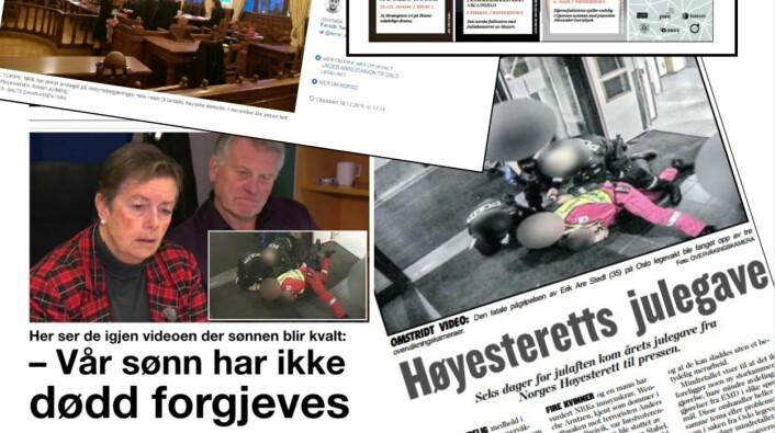 """Faksimile fra Skup-rapporten """"Døden på Oslo legevakt"""""""