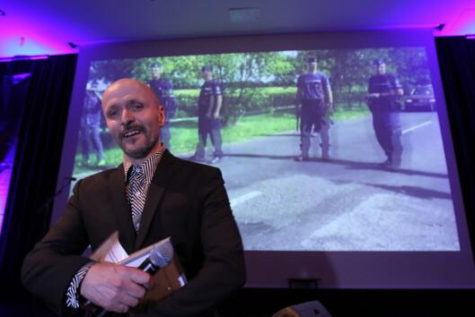Winge fikk i helgen to priser for<br>reportasjen.<br>Foto: Martin Huseby Jensen