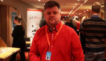 Avtroppende NRKJ-leder Ricard Aune.