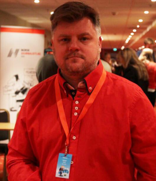 NRKJ-leder Richard Aune.<br>Foto: NRKJ