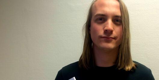 Mikkel Berg Strømstad. foto: Privat