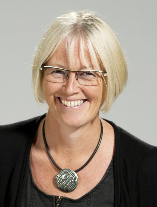 Vigdis Holmaas er nyhetssjef i NRK Hordalands<br>distriktsredaksjon. Foto: NRK