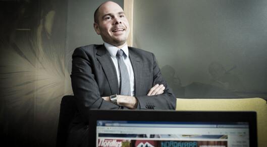 Sjefredaktør Anders Opdahl i Nordlys.