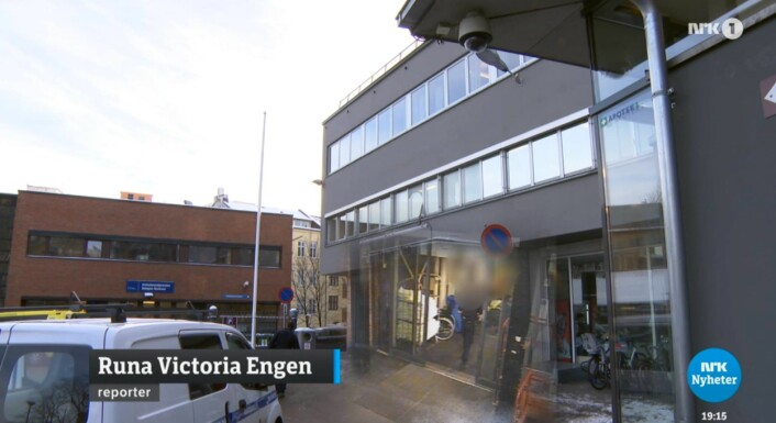 Bildeutsnitt fra NRK Dagsrevyen 19. januar 2016.