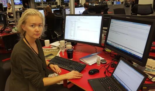 Kari Tone Sperstad Flågen er nyhetssjef i VG. Foto: Bjørn Åge Mossin