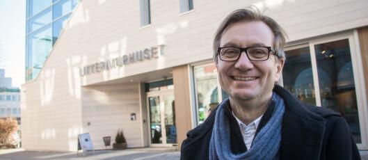 Trygve Aas Olsen er fagmedarbeider ved Institutt for Journalistikk.<br>Foto: Kathrine Geard