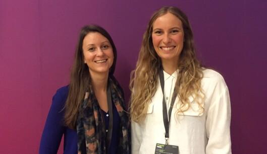 Agnes Dyvik og Mari Hæreid står bak VIO.<br>Foto: Vivian Stensrud