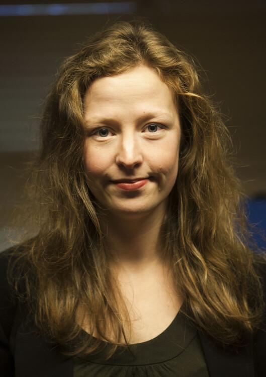 Synne Hammervik er ansvarlig redaktør for Studentmediene<br>i Trondheim.Foto: Under Dusken