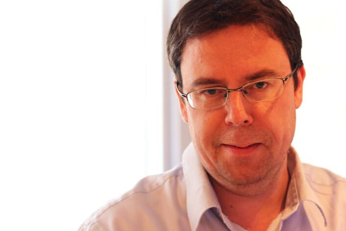 Nyhetsredaktør Frode Hansen i Dagbladet. Foto: Martin Huseby Jensen