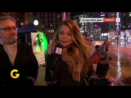 Kristina Kvistad Hustad (26) fra Sæbø i Ørsta er vikar i God<br>morgen Norge i TV 2. Foto: TV 2/privat.