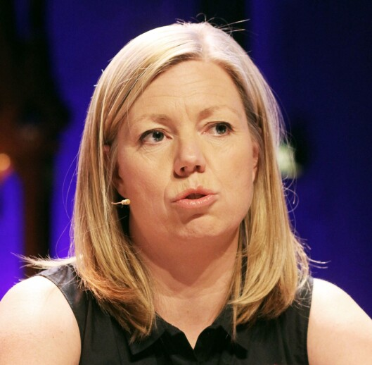 Trine Eilertsen, politisk redaktør i Aftenposten.<br>Foto: Birgit Dannenberg