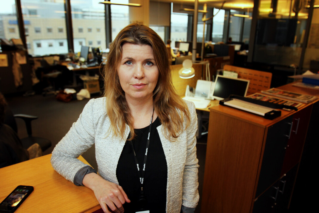 Featureredaktør Lillian Vambheim i Aftenposten kan se tilbake på et år hvor A-magasinet har fått flere lesere. Arkivfoto: Birgit Dannenberg