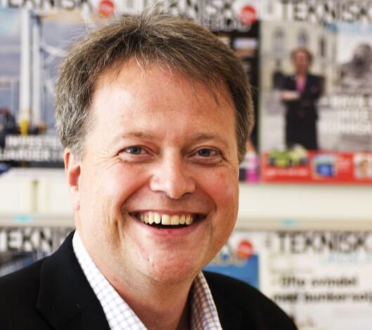 TU-sjef Jan M. Moberg har aksjer til en<br>verdi av over 2 millioner kroner.