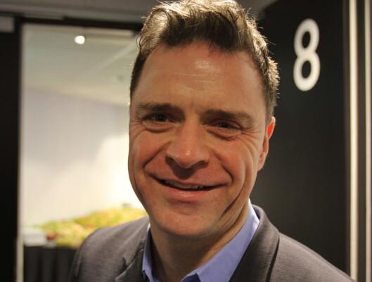 Aftenpostens publisher Espen Egil Hansen har<br>småposter i fem ulike selskaper.<br>Foto: Martin Huseby Jensen