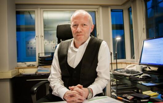 Generalsekretær Arne Jensen i Redaktør-<br>foreningen sier redaktørene må følge<br>Vær Varsom-plakaten. Foto: Kathrine Geard