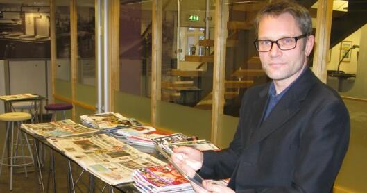 - En utfordring for mediebransjen, sier Geir Engen, fagsjef for digital utvikling i MBL. Foto: Bjørn Åge Mossin