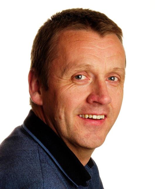 Axel Walø, redaktør i Egmont Publishing