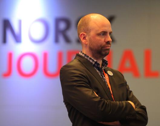 Stortingsrepresentant og mediepolitisk talsperson for<br>Arbeiderpartiet, Arild Grande. Foto: Martin Huseby Jensen