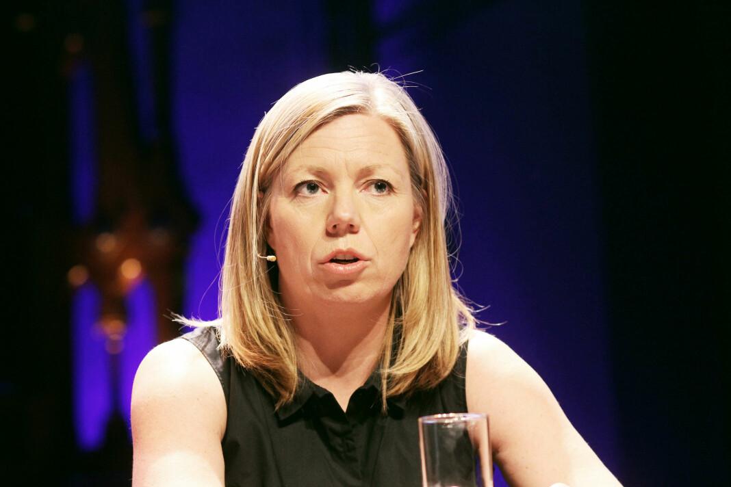 Politisk redaktør Trine Eilertsen i Aftenposten. Arkivfoto: Birgit Dannenberg