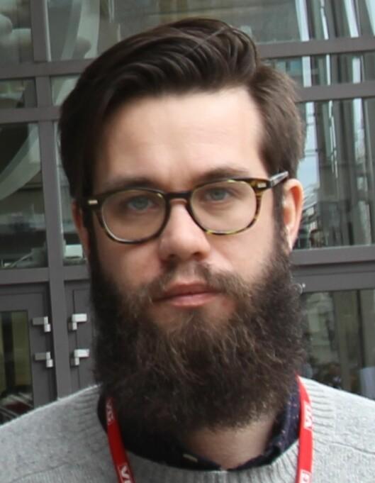 Dennis Ravndal er leder av redaksjonskluben i VG.<br>Foto: Bjørn Åge Mossin