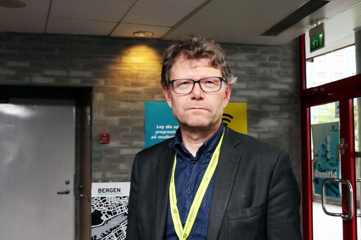 Nyhetsredaktør Stein Bjørntegård i NRK. Foto: Birgit Dannenberg