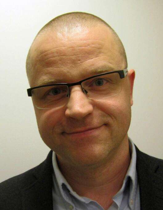 Avtroppende nyhetsredaktør Lars Arntzen.