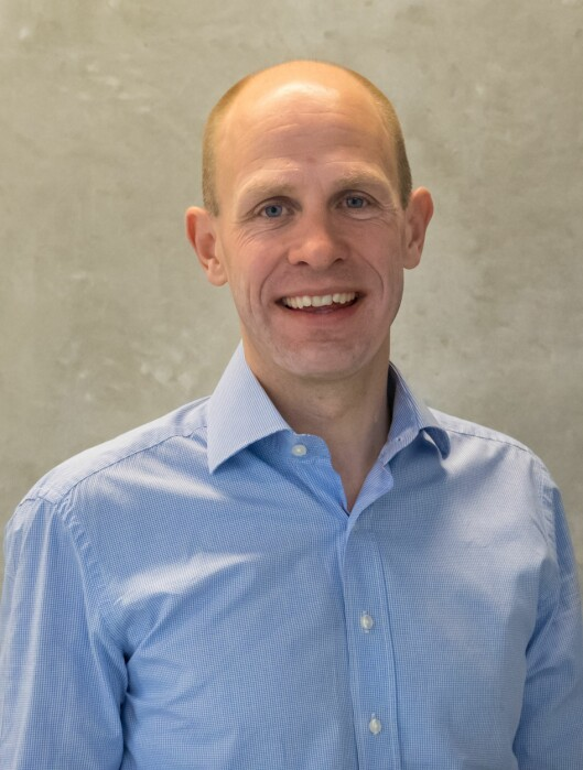 Kjetil Hyllseth, Leder for digital<br>utvikling ogE-commerce i<br>Egmont Publishing. Foto: Trond<br>Lindholm/Egmont Publishing