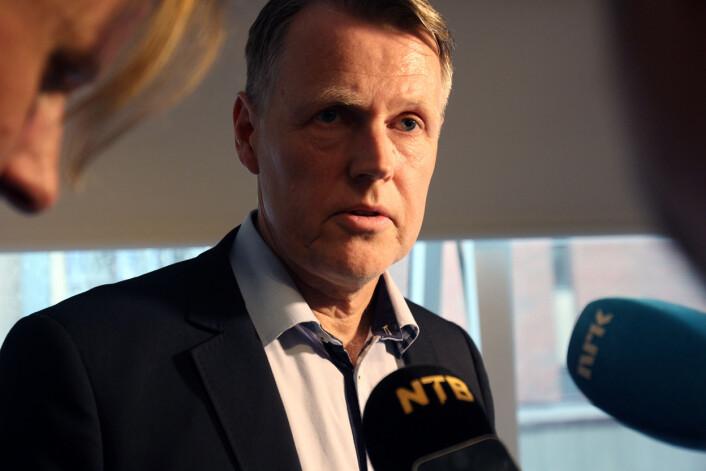 Kirurg Per Kristian Eide var glad for å vinne fram i PFU med klagen på TV 2. Foto: Glenn Slydal Johansen