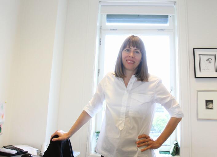 Anna B. Jenssen. Foto: Martin Huseby Jensen