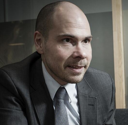 Ansvarlig redaktør Anders Opdahl i Nordlys.