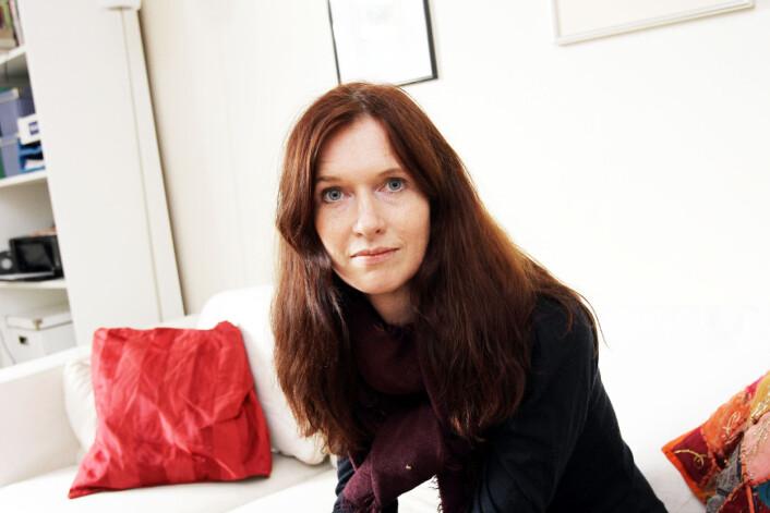 Medieforsker Kjersti Thorbjørnsrud, også kjent som medlem av Kringkastingsrådet, mener journalistikken påvirkes av journalisters partipolitiske preferanser. Foto: Birgit Dannenberg