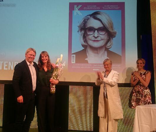 Aftenposten K ble kåret til Årets magasin.<br>Foto: Glenn Slydal Johansen