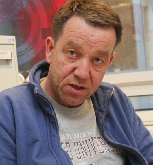 Sven Arne Buggeland, konserntillitsvalgt i Schibsted ASA.<br>Foto: Kathrine Geard