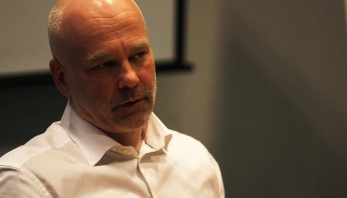 Kringkastingssjef Thor Gjermund Eriksen regner med å spare penger på omleggingen. Foto: Martin Huseby Jensen
