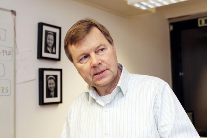Svein Larsen regner med at regjeringen ikke ønsker å tvinge lokalradio over på DAB. Særlig siden det vil ta livet av en lang rekke stasjoner. Foto: Birgit Dannenberg