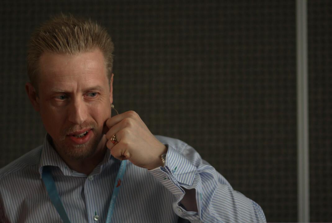 Kristoffer Egeberg er redaktør i Faktisk.no. Foto: Journalisten