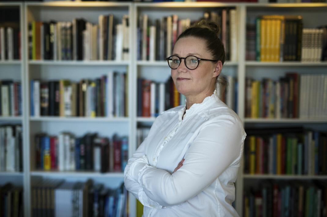Tidligere fotograf og journalist Veronica Melå driver forlaget Utenfor Allfarvei. Foto: Kristine Lindebø